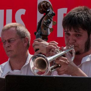 Dixieland Festival Dresden 2011 - trumpet section