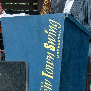 Schlössernacht Dresden 2012 - New Town Swing Orchestra in action