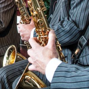 Schlössernacht Dresden 2012 - saxophone section