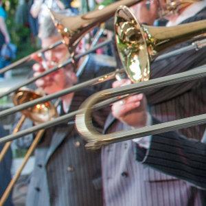 Schlössernacht Dresden 2012 - trombone section