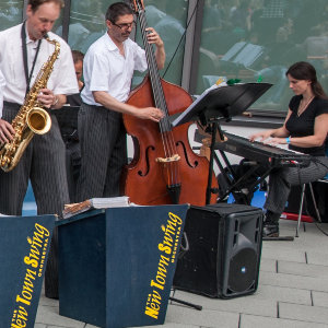 Sommerfest CRTD 2012 - New Town Swing Orchestra in action